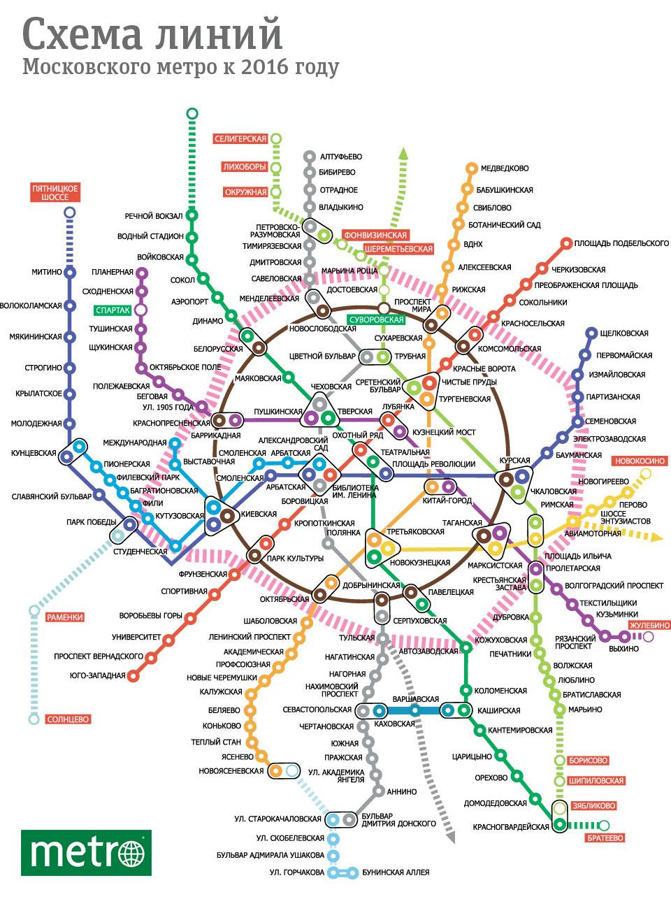 A quoi ressemblera le Metro de Moscou dans 5 ans? – En Russie